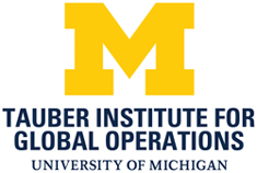 University of Michigan Tauber Institute for Global Operations