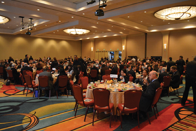The Annual Conference and Expo showcases the institute's honors and awards at a gala dinner each year.