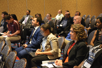 Attendees pay rapt attention to a presentation at the 2016 IIE Annual Conference and Expo.