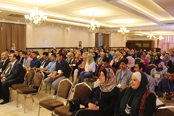Students and professionals from the region attended Hashemite University's second IISE Forum.