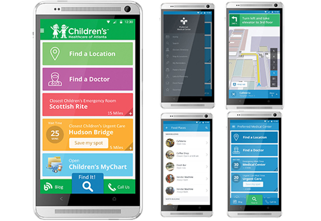 Gozio Health's wayfinding app helps patients navigate through your