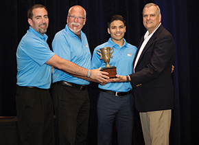 The Timken Co. – Bearing Inspection Inc., of Los Alamitos, California, won the Ergo Cup in the Engineering/Ergonomist- Driven Workplace Solutions with Internal Competition category.
