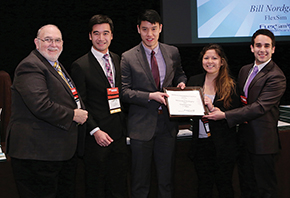 The University of Washington team won the FlexSim Student Simulation Contest.