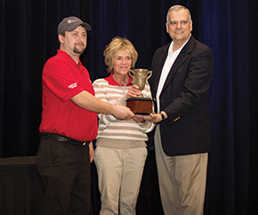 The Depuy Synthes' team won the Team-Driven Workplace