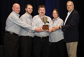 Honda of America Manufacturing Inc. took home an Ergo Cup