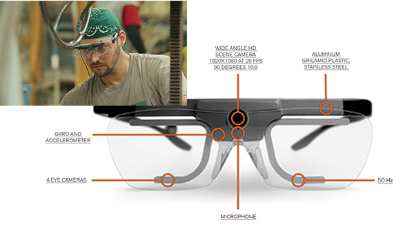 Tobii Pro Glasses 2 can help bring eye-tracking studies into the industrial world.