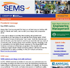 SEMS Newsletter