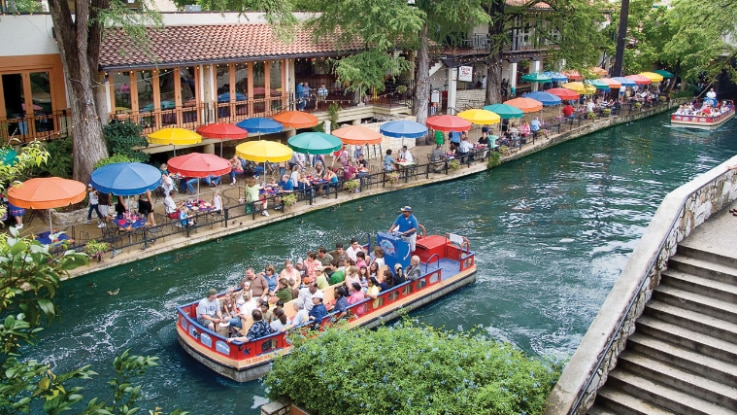 San Antonio'River Walk