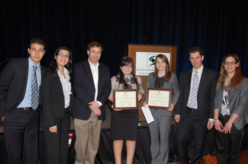 2011 Student Paper Winners