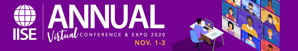 IISE Annual Conference & Expo 2020 - Virtual!