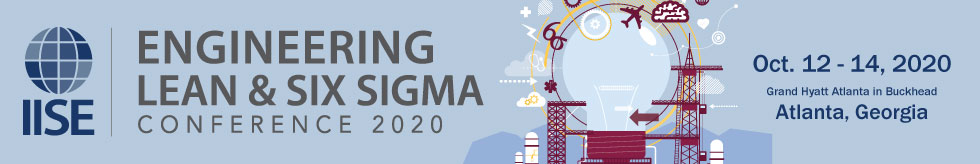 IISE Engineering Lean & Six Sigma Conference 2020